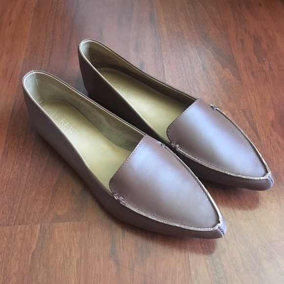 2b35d5dcb92 JCrew Factory Edie Leather Loafers - new in box